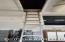 Very Nice Aluminum Ladder that leads to attic great for Christmas Decorations and storage