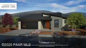 Rendering of Finished Home