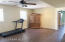 Large Office or Flex Space on Lower Level with Large Storage Closet off to the side.