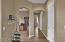 Hallway to office & bedrooms 2 & 3