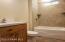 Full Bath on Both Levels