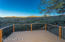 Privacy and views off the back master deck