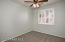 With Plantation Shutters, New Carpet and Lighted Ceiling Fan