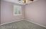 with Plantation Shutters, New Carpet, Lighted Ceiling Fan and Large Closet.