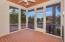 Large screened in covered porch with views of P mountain.
