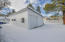 Large 4 car garage, easy tie-in for additional livable space conversion