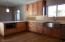 Natural Alder Cabinets with Quartz Countertops