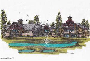 Conceptual Lodge by Blaine Rebillot, architect, Design Rebillot LLC