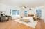 Huge master suite with great views and very bright!