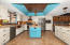 Stainless Appliances, Island with Butcher Block Top