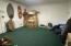 Bonus room off garage