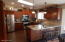 KITCHEN- ALL REDONE- LOOK AT THOSE CABINETS
