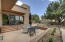AZ room opens to patio