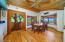 Plenty of space for indoor entertaining