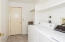 well appointed laundry room- washer and dryer included!