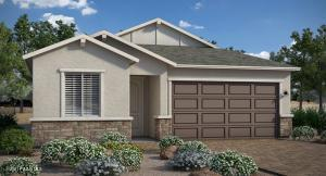 Rendering, not photo of actual home