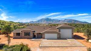 Beautiful New Home with Granite Mountain Views from backyard.