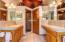 Seperate Vanity/ his & her sinks & Walk- in shower