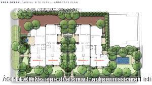 456 S Ocean Site Plan