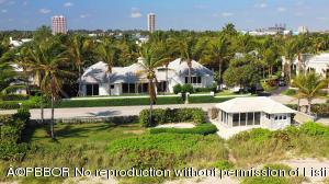 Main house with beach cabana.