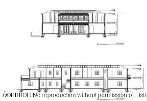 North & East Section Elevation