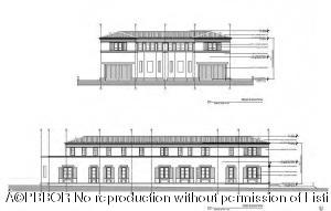 North & East (Rear & Side) Elevation