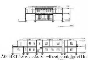 North & East Sectional Elevation