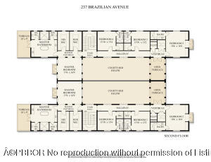 237 Brazilian Floor Plan Second Floor
