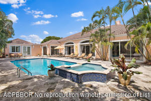 exterior pool and house