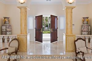 front entry doors open