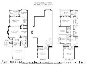 221 BRAZILIAN AVE Floor Plan