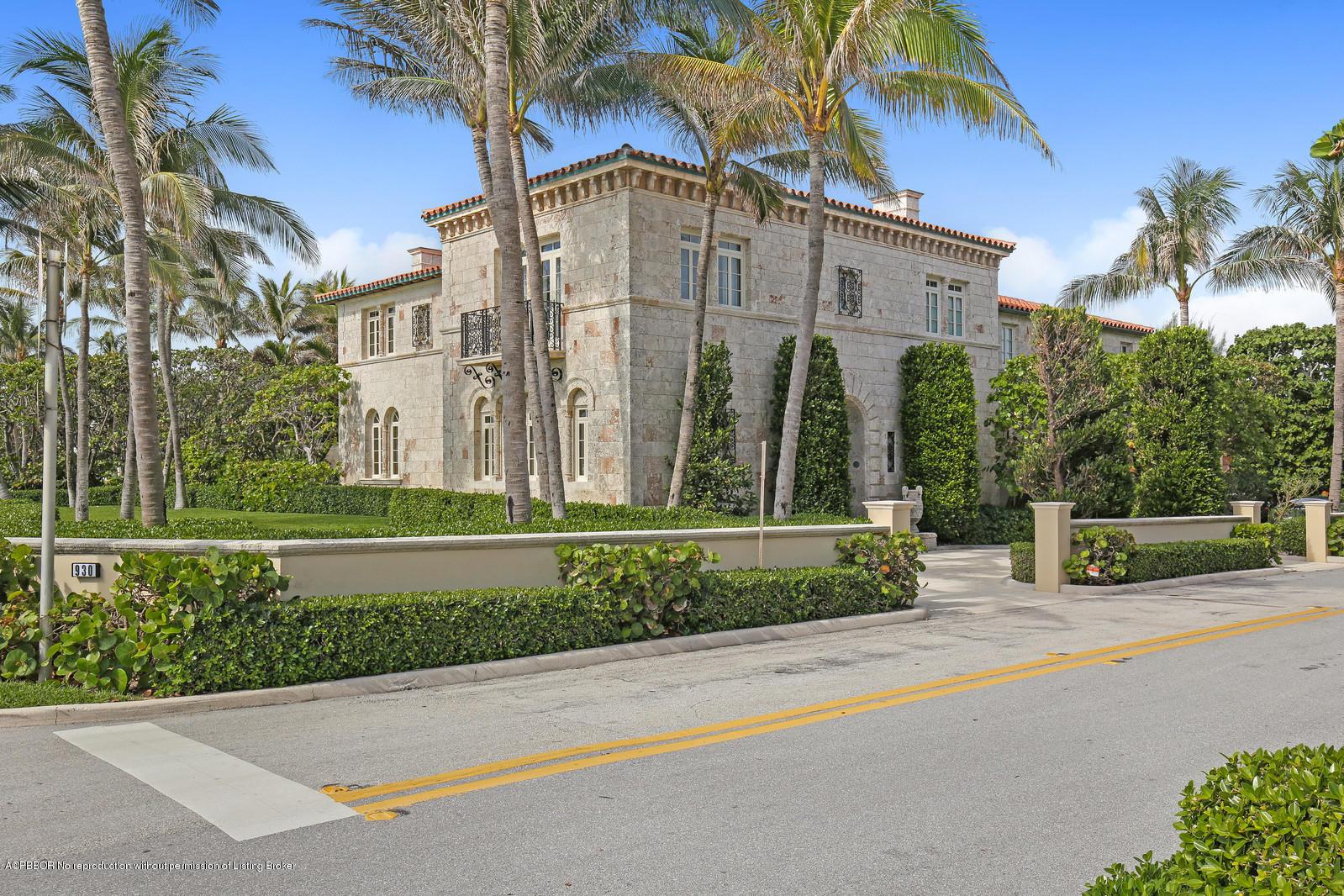 930 S Ocean Boulevard Palm Beach, FL 33480