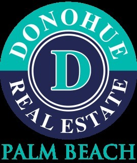DONOHUE REAL ESTATE Palm Beach logo