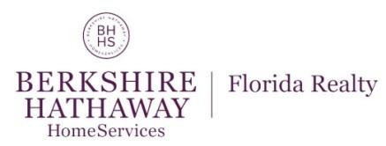 BERKSHIRE HATHAWAY HomeServices Florida Realty logo