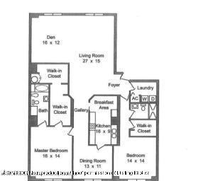 150 Bradley 904 Floor Plan