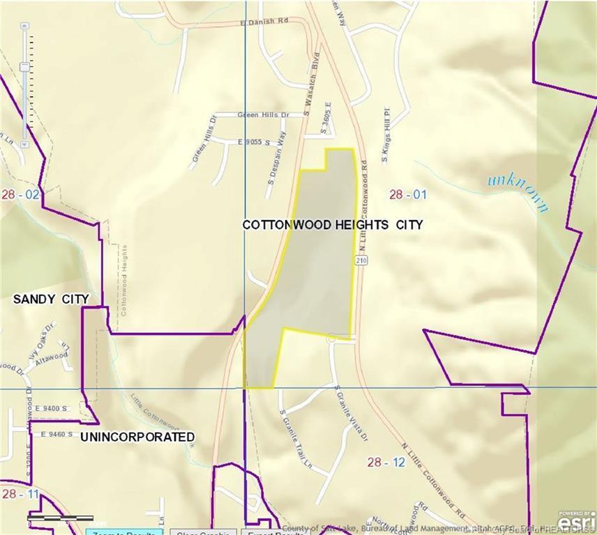 9354 North Little Cottonwood Road, Salt Lake City, Utah 84092, ,Land,For Sale,North Little Cottonwood Road,11808147