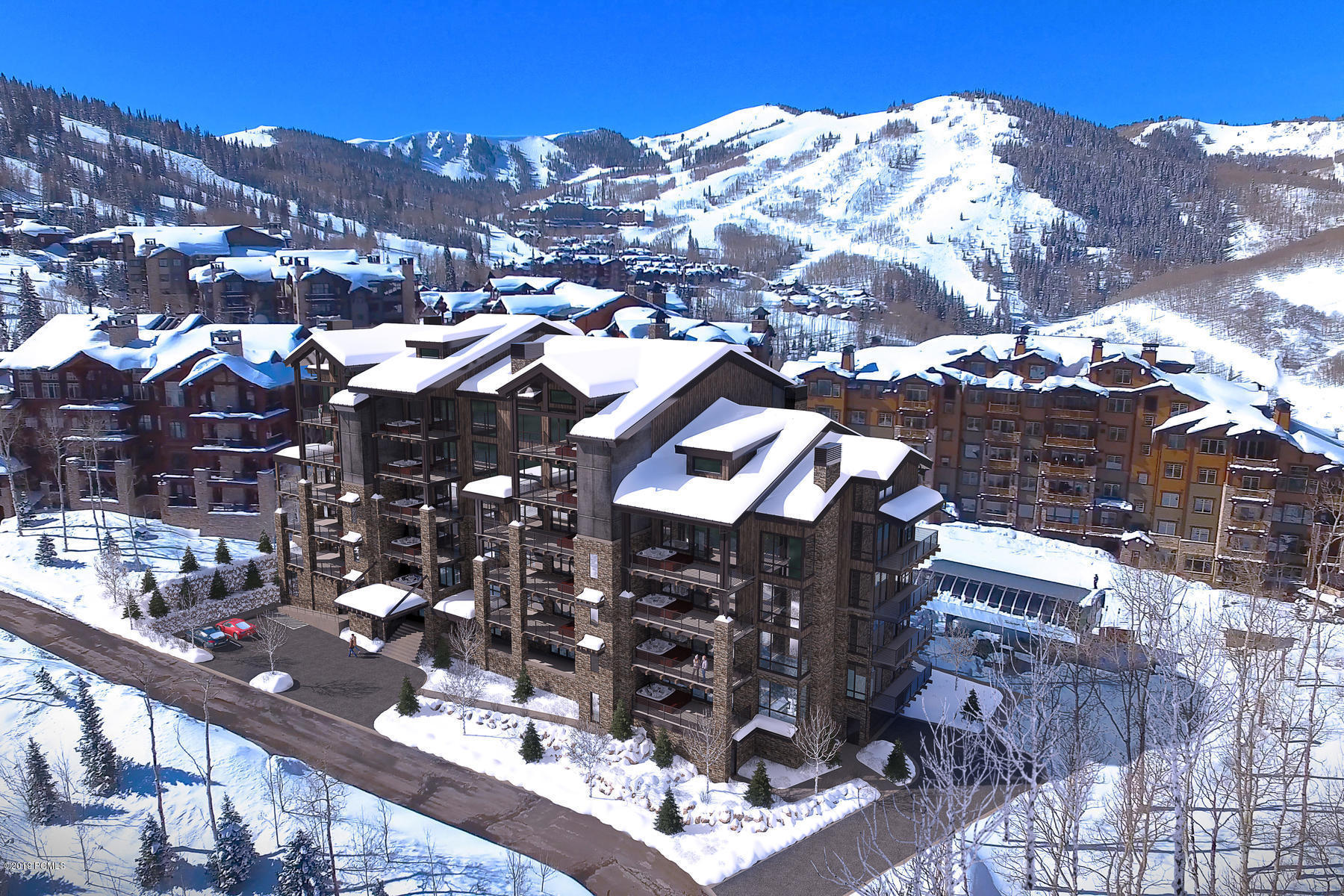 7697 Village Way, Park City, Utah 84060, 4 Bedrooms Bedrooms, ,5 BathroomsBathrooms,Condominium,For Sale,Village Way,20190109112430415765000000