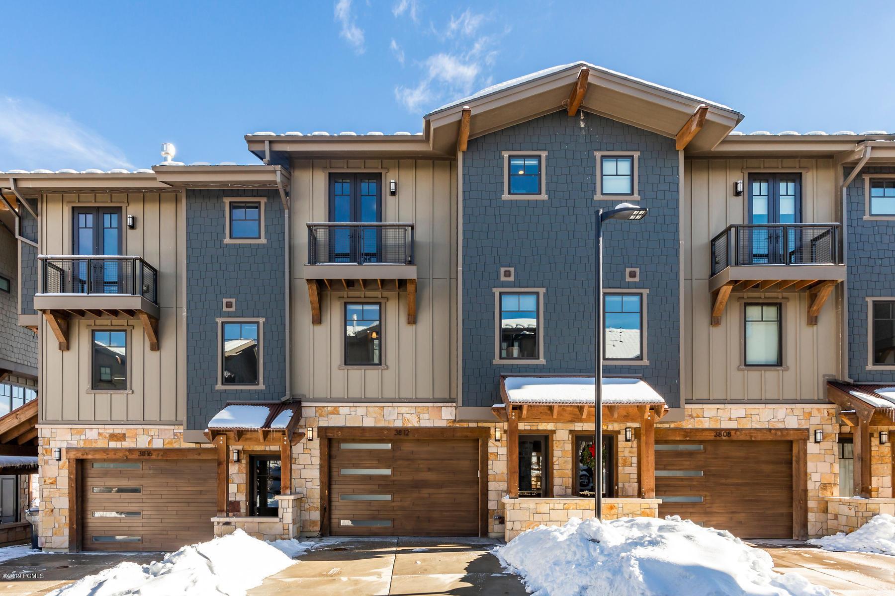 3812 Blackstone Drive, Park City, Utah 84098, 3 Bedrooms Bedrooms, ,3 BathroomsBathrooms,Condominium,For Sale,Blackstone,20190109112430415765000000