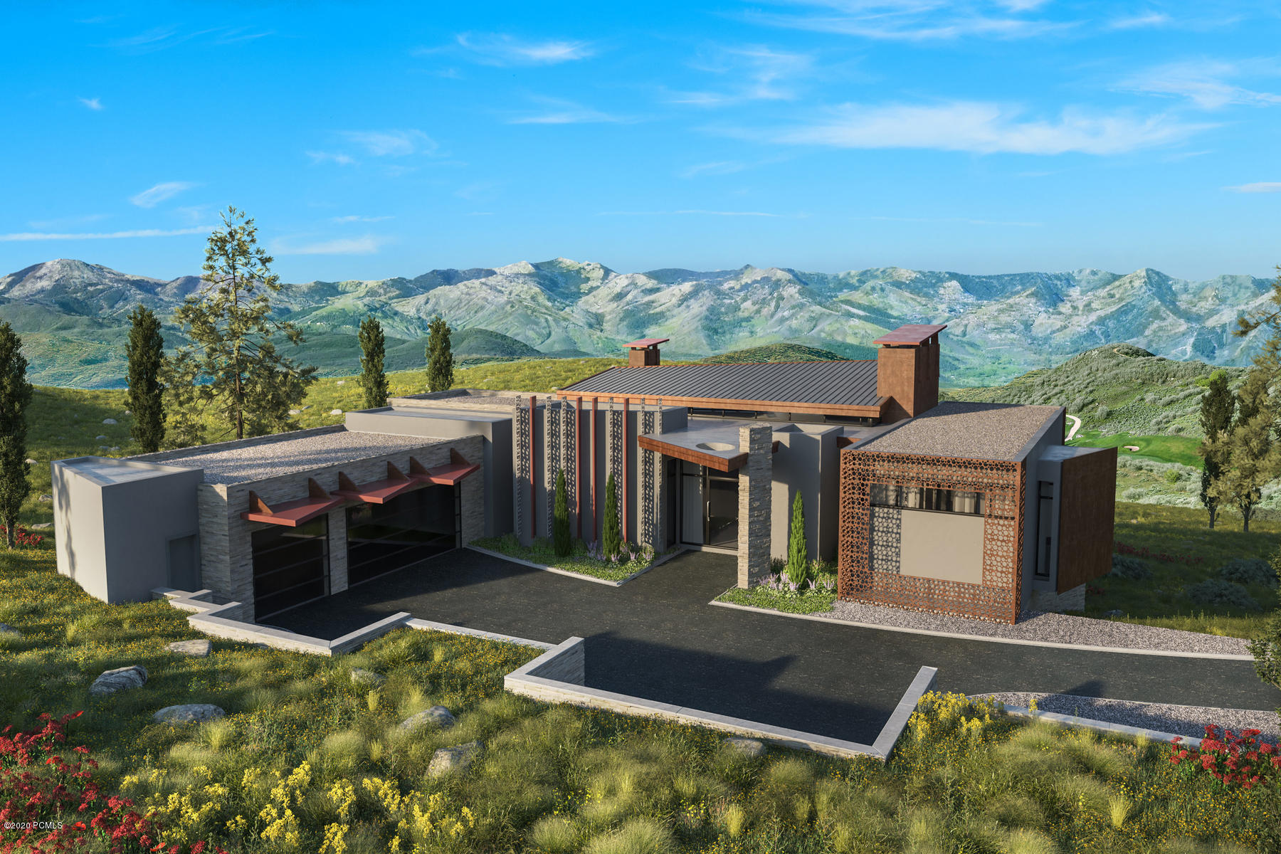 3840 Wapiti Canyon Road, Park City, Utah 84098, 4 Bedrooms Bedrooms, ,6 BathroomsBathrooms,Single Family,For Sale,Wapiti Canyon,12000445