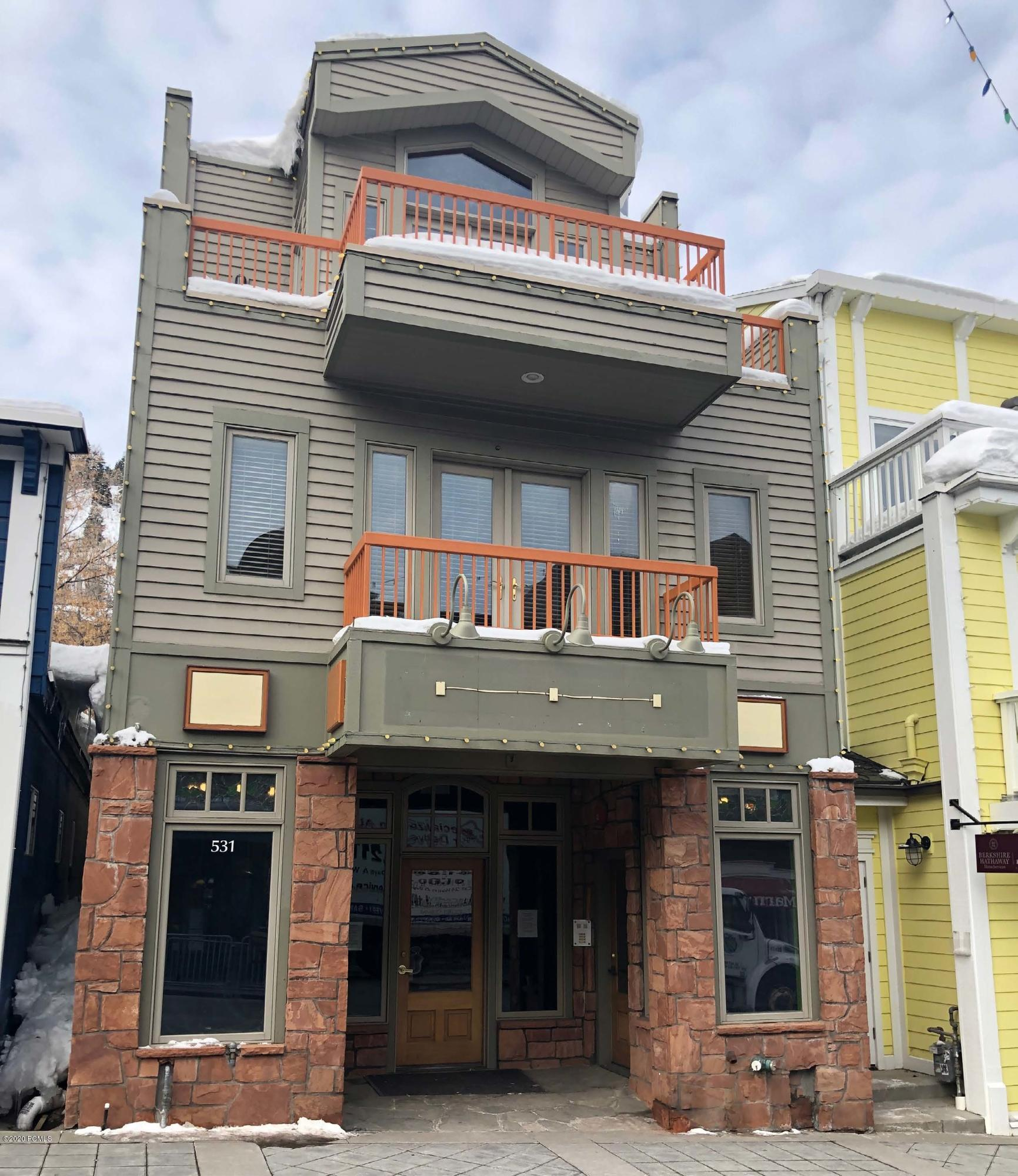 531 Main Street, Park City, Utah 84060, ,Commercial,For Sale,Main Street,20190109112430415765000000