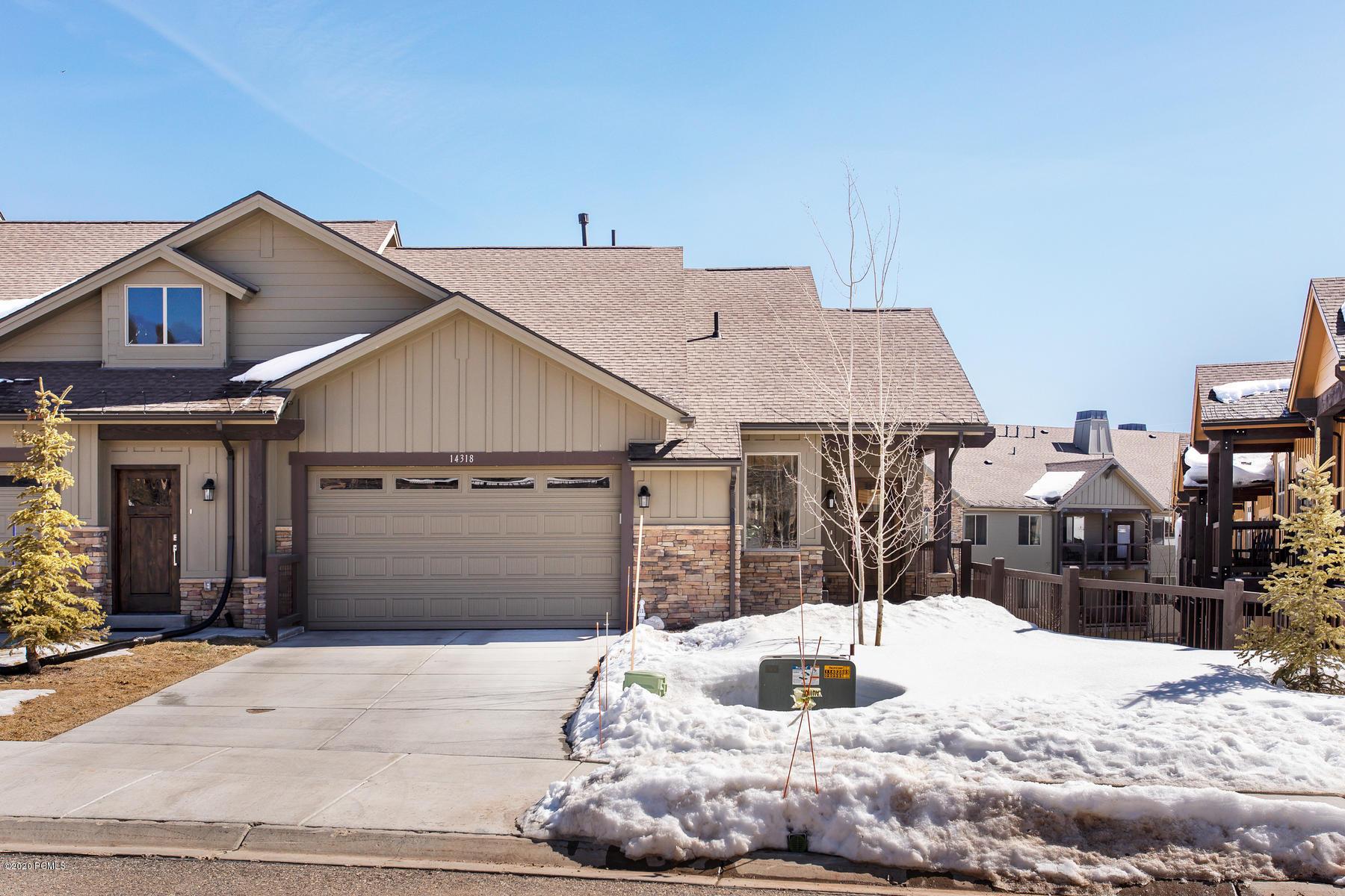 14318 Rendezvous Trail, Heber City, Utah 84032, 3 Bedrooms Bedrooms, ,4 BathroomsBathrooms,Condominium,For Sale,Rendezvous,20190109112430415765000000