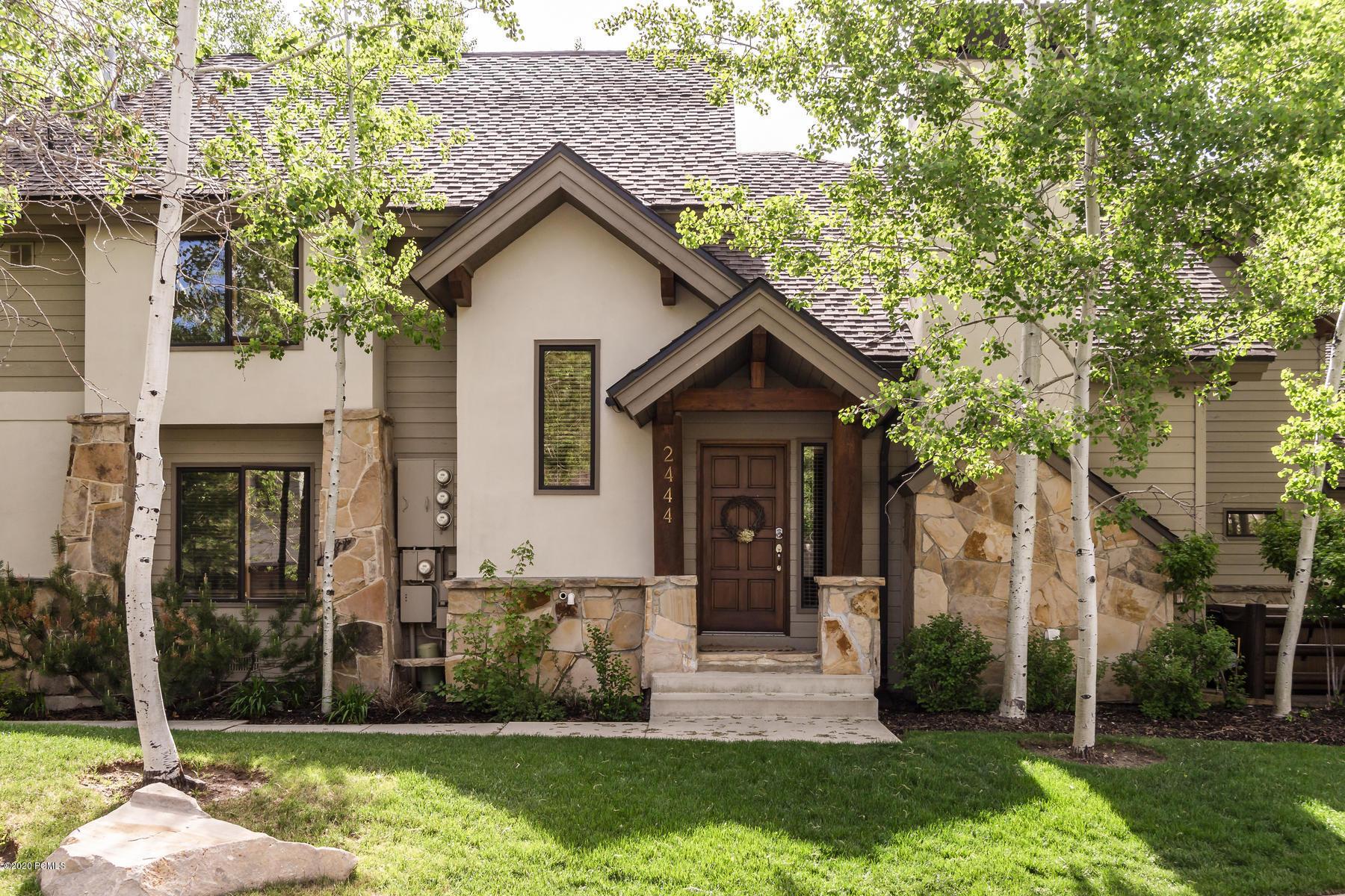 2444 Deer Lake Drive, Park City, Utah 84060, 4 Bedrooms Bedrooms, ,4 BathroomsBathrooms,Condominium,For Sale,Deer Lake,20190109112430415765000000