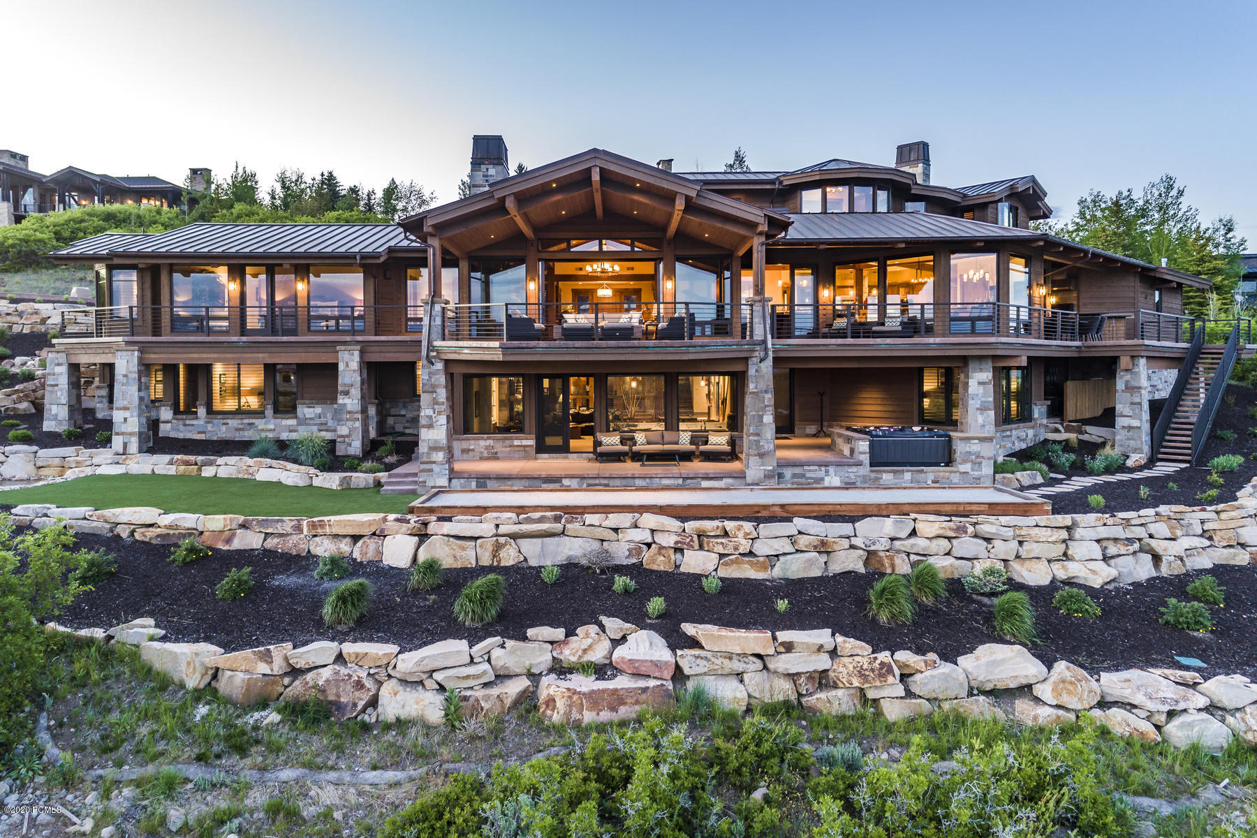 7958 Sunrise Loop, Park City, Utah 84098, 6 Bedrooms Bedrooms, ,8 BathroomsBathrooms,Single Family,For Sale,Sunrise,20190109112430415765000000