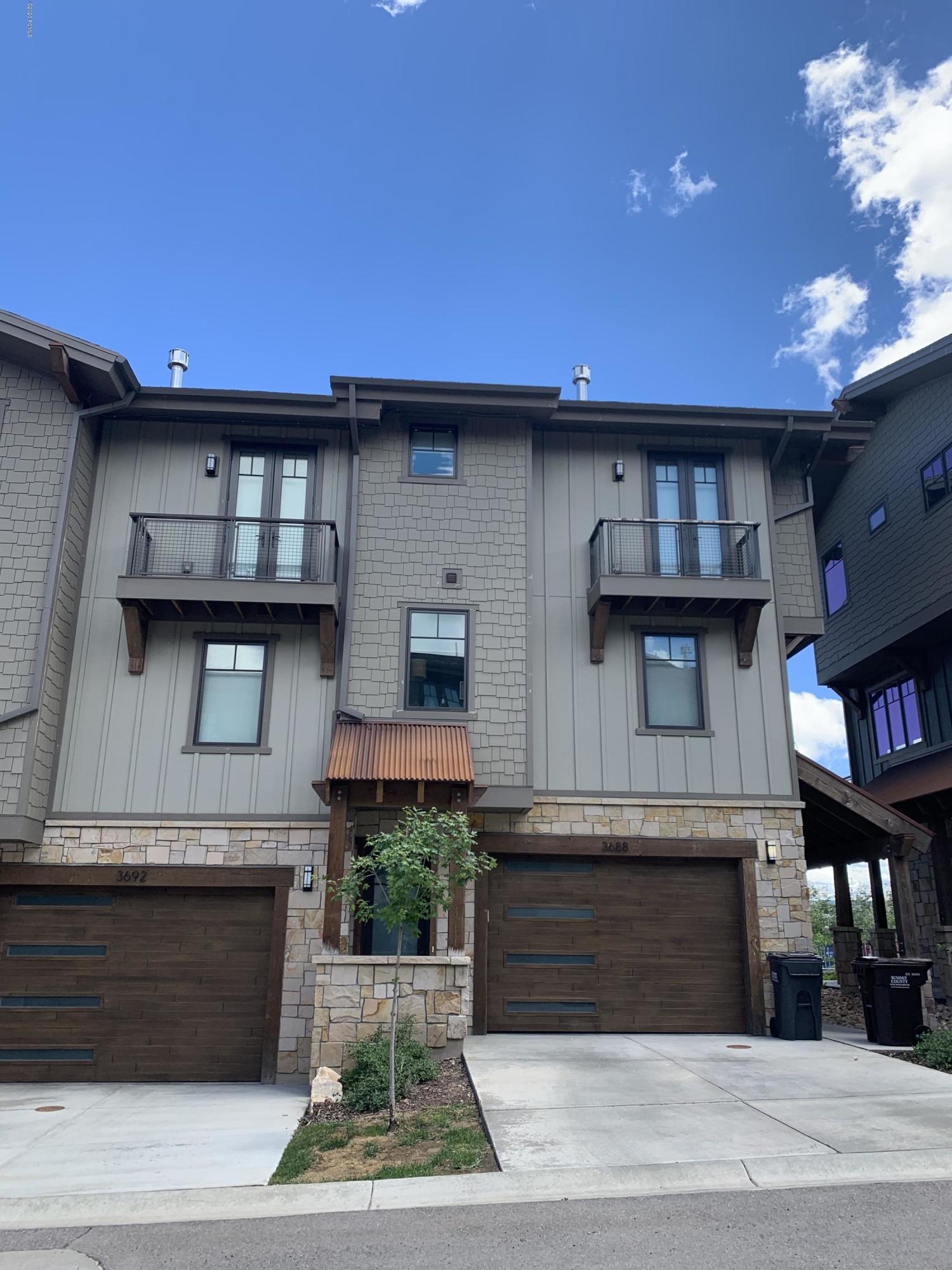 3688 Blackstone Drive, Park City, Utah 84098, 3 Bedrooms Bedrooms, ,3 BathroomsBathrooms,Condominium,For Sale,Blackstone,20190109112430415765000000