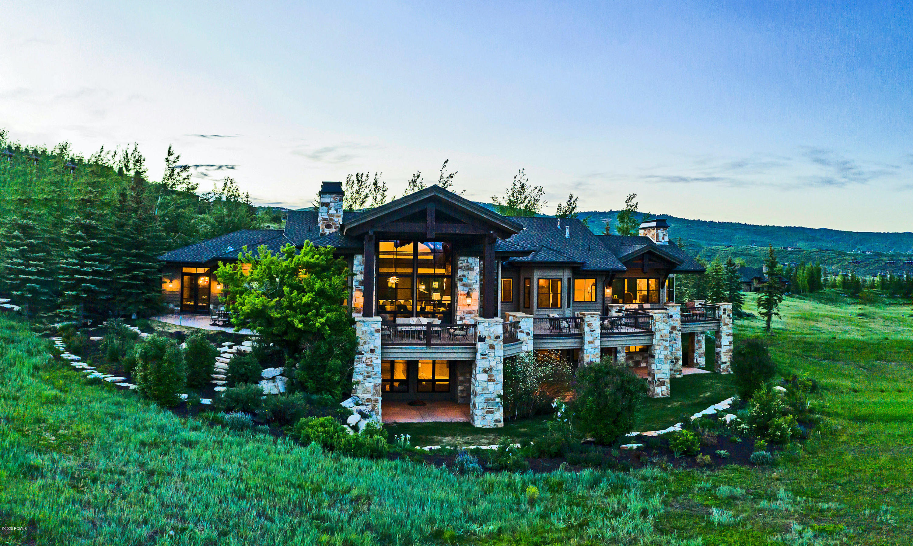 7418 Glenwild Drive, Park City, Utah 84098, 5 Bedrooms Bedrooms, ,7 BathroomsBathrooms,Single Family,For Sale,Glenwild,20190109112430415765000000