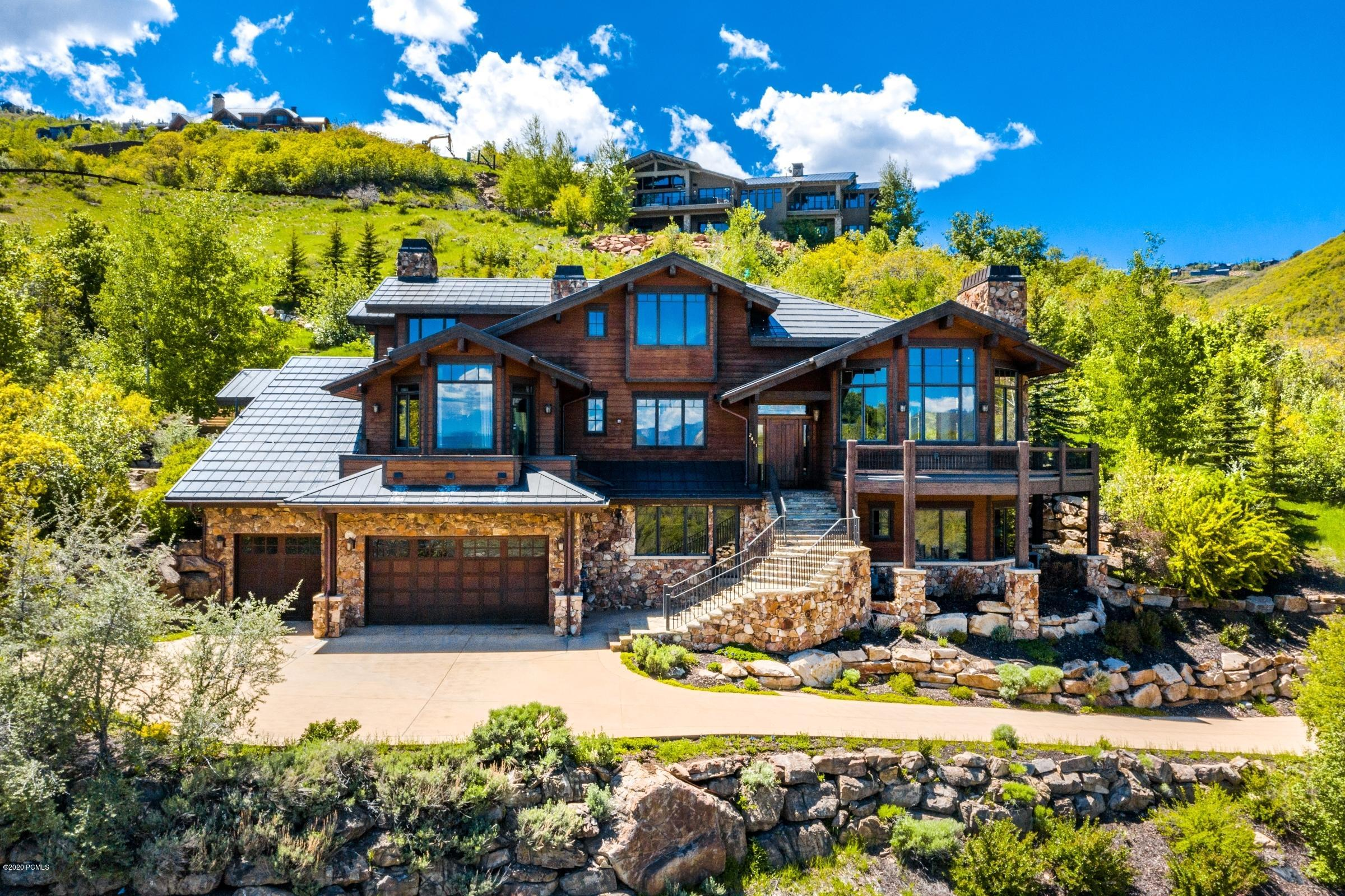 2681 Deer Hollow Road, Park City, Utah 84060, 5 Bedrooms Bedrooms, ,7 BathroomsBathrooms,Single Family,For Sale,Deer Hollow,20190109112430415765000000