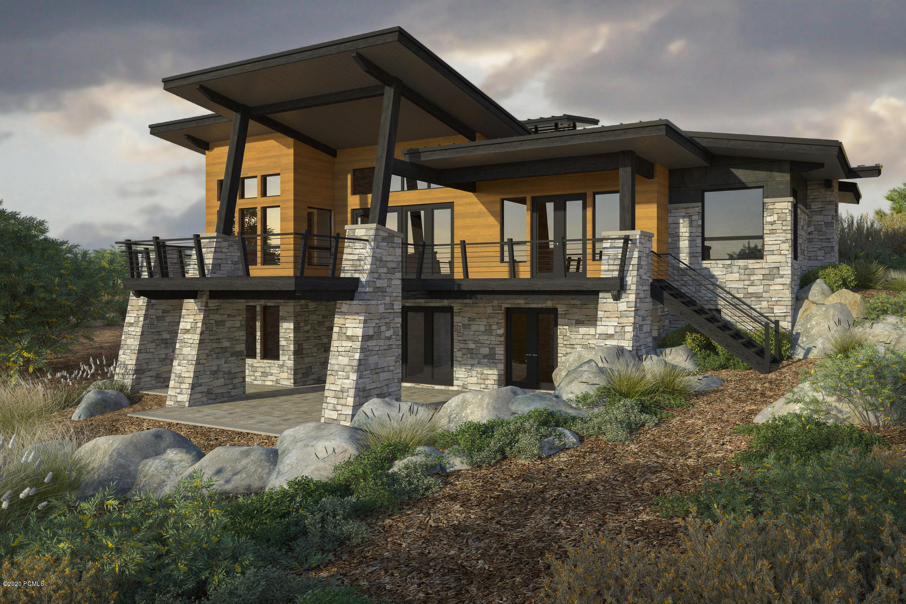 1133 Canyon Gate Road, Park City, Utah 84098, 4 Bedrooms Bedrooms, ,5 BathroomsBathrooms,Single Family,For Sale,Canyon Gate,20190109112430415765000000