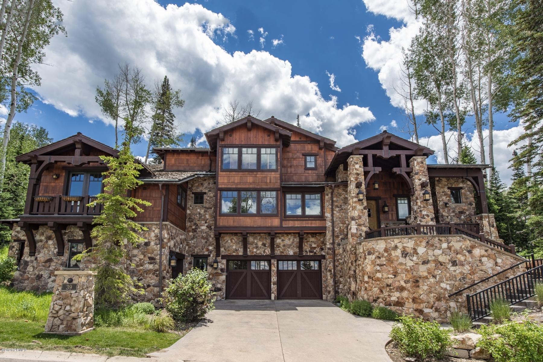 39 Silver Strike Trail, Park City, Utah 84060, 5 Bedrooms Bedrooms, ,6 BathroomsBathrooms,Single Family,For Sale,Silver Strike,20190109112430415765000000