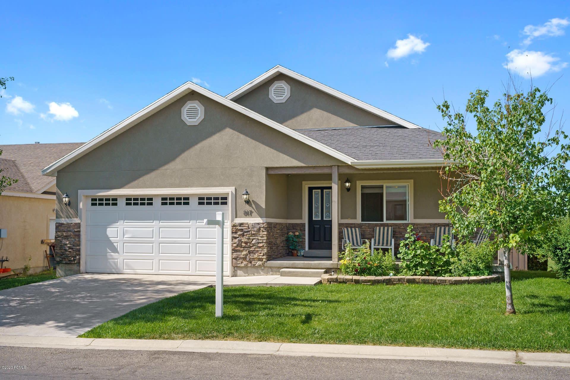817 Saddle Drive, Oakley, Utah 84055, 3 Bedrooms Bedrooms, ,2 BathroomsBathrooms,Single Family,For Sale,Saddle,20190109112430415765000000