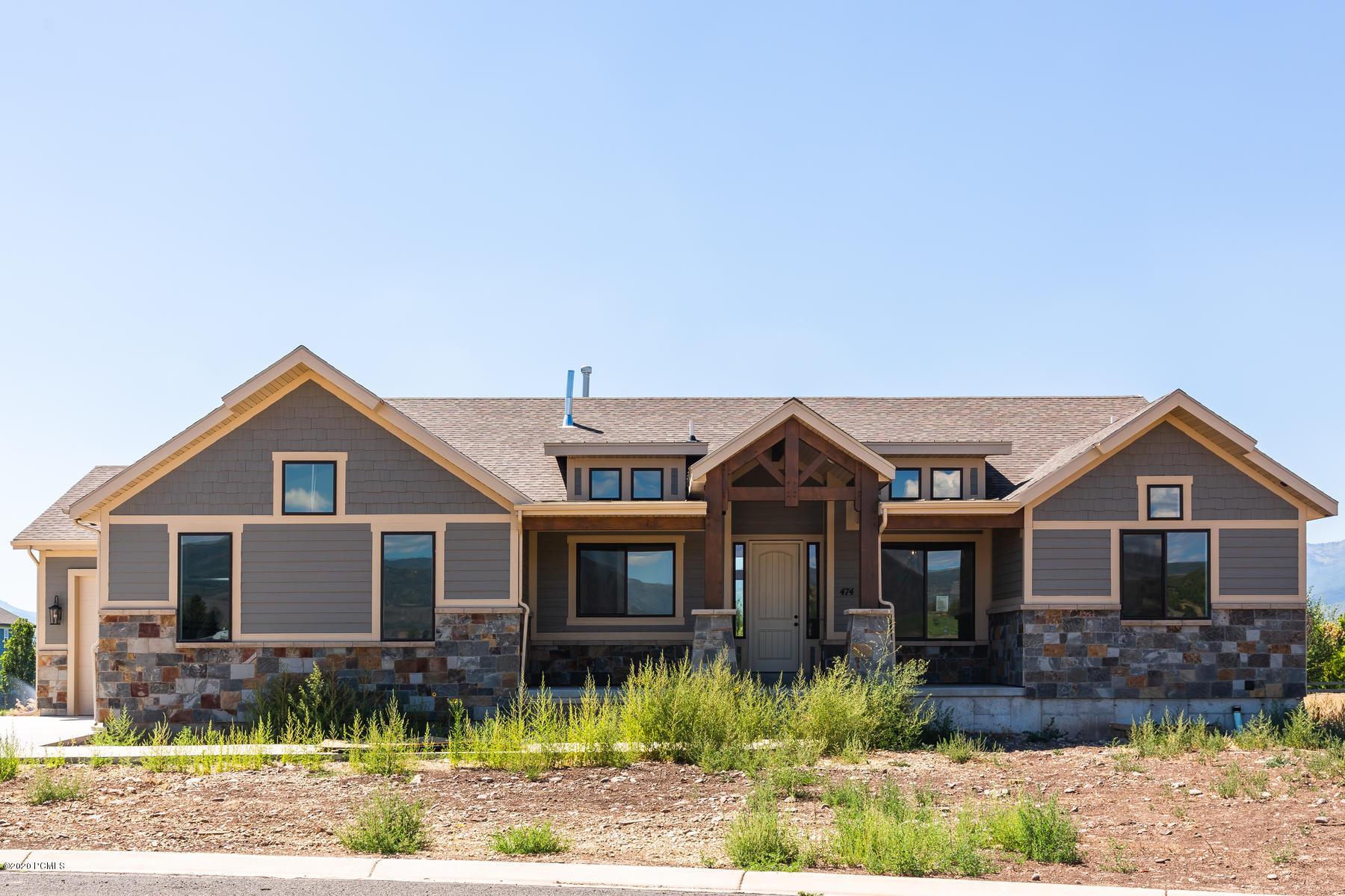 474 1850 East, Heber City, Utah 84032, 4 Bedrooms Bedrooms, ,4 BathroomsBathrooms,Single Family,For Sale,1850,12002994
